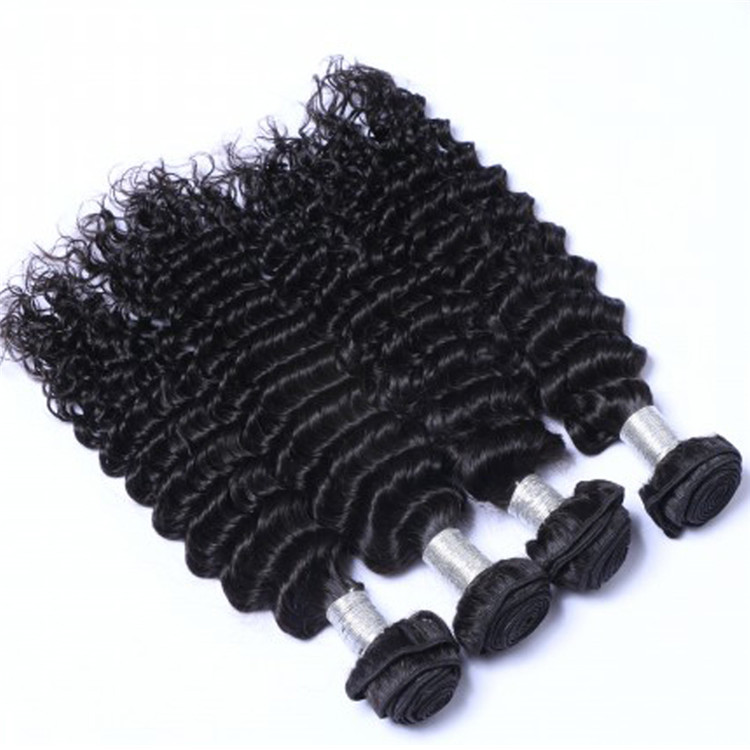 EMEDA china deep wave peruvian virgin hair weft wholesale suppliers QM033