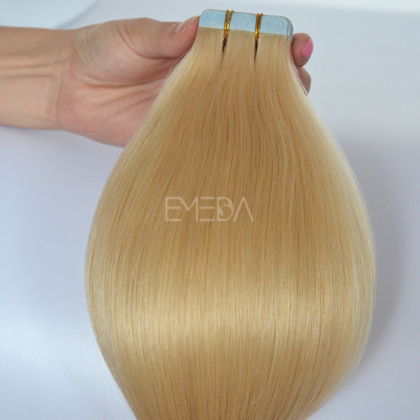 Double side tape hair extensions wholesale #8 ---lp102