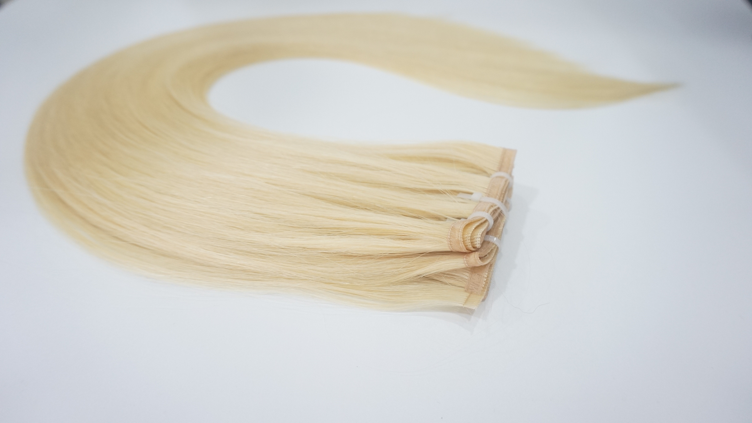 Ribbon Hair with extremely thin band hair weft WK0...</>