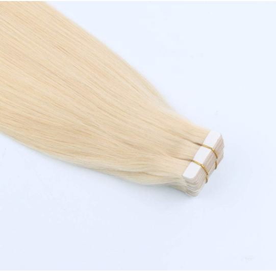 Human Hair Extensions Tape in Ombre Brown to Caramel Blonde Natural Hair Extensions YL324