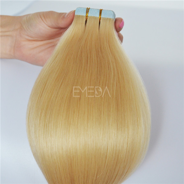 Grade 7A 100% Virgin Human Hair Tape Hair Extensions JF015