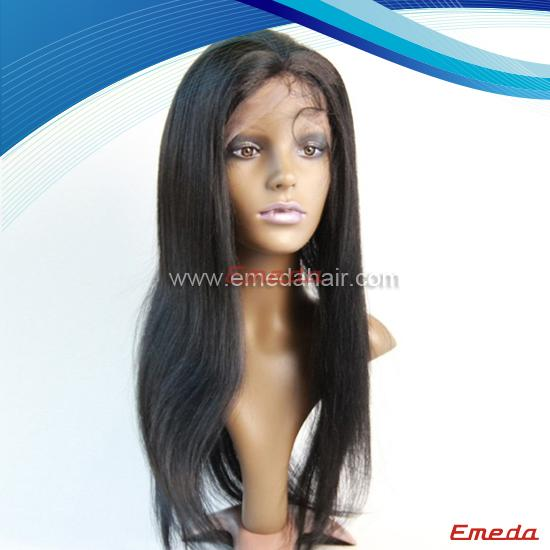 wet and wavy indian remy full lace wig